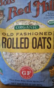 organic grains, oats